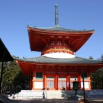 高野山 壇上伽藍 大塔(根本大塔)・世界遺産