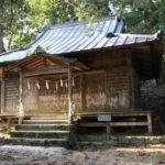 渋川六所神社(岩谷) 凱旋記念門 大銀杏