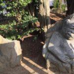 猿石(さるいし)