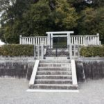 第40代 天武天皇・第41代 持統天皇御陵(檜隈大内陵)