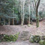 吉野山 牛頭天王社跡(ごずてんのうしゃあと) 正須行人閼伽之井