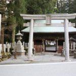 山住神社(やまずみじんじゃ) 浜松市天竜区水窪町
