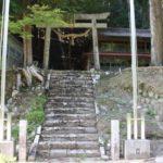 日月神社(ぢつげつじんじゃ) 周智郡森町鍛冶島