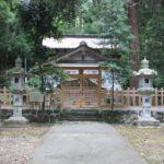 身延山 久遠寺 上の山八幡神社本殿