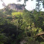 乳岩峡(ちいわきょう)乳岩・国の名勝及び天然記念物・愛知県新城市川合