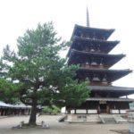 法隆寺 五重塔・世界遺産 法隆寺地域の仏教建造物
