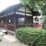 法隆寺 弁天社・世界遺産 法隆寺地域の仏教建造物