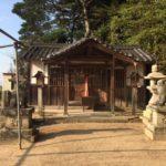 水口神社 (みなくちじんじゃ)・奈良県天理市渋谷町上山