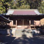 高山白山神社 高山(569m) ・静岡県島田市相賀