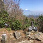 真冨士山(1343m) 第二真冨士山(1401m) 湯ノ岳(1445m) 浅間原(1420m)