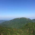 雨乞岳(1238m)鈴鹿山脈・滋賀県東近江市 甲賀市