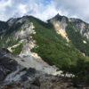 鳳凰三山・地蔵岳(2763m) 観音岳(2840m) 薬師岳(2780m)・ドンドコ沢〜中道コース
