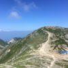 木曽駒ヶ岳(2956m) 宝剣岳(2931m) 中岳(2925m)・中央アルプス