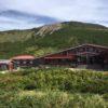 白山・御前峰(2702m) 大汝峰(2684m) 七倉山(2557m) 四塚山(2521m)