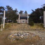 天河大弁財天社(弥山神社)奥宮・弥山(1895m)山頂