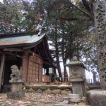 大宮浅間神社 奥宮 尾張富士(275m)山頂・愛知県犬山市冨士山