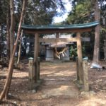 社山城跡(やしろやま)社山(130m)八幡神社・静岡県磐田市社山