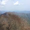 蕎麦粒山(1627.1m) 沢口山 (1425m)板取山(1512.9m) 天水(1521m)・縦走