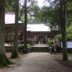 横手 駒ケ嶽神社・山梨県北杜市白州町横手