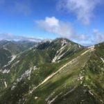 空木岳(2864m) 南駒ヶ岳(2841m) ・縦走