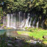 白糸の滝・音止めの滝「世界遺産」(日本の滝百選)・静岡県富士宮市