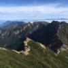 南八ヶ岳・赤岳(2899m) 横岳(2830m) 硫黄岳(2760m)