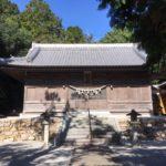 阿志神社(あしじんじゃ)・愛知県田原市芦町柿ノ木