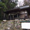 雛鶴神社(無生野)・山梨県上野原市秋山無生野