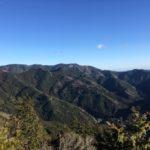 本宮山(789.2m) 西山(482.4m) 大日山(651.1m) 風頭山(597m)・闇苅渓谷