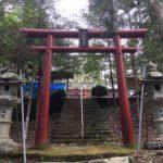 瀬尻 白山神社(小仏山)・静岡県浜松市天竜区龍山町瀬尻