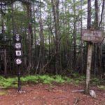 朝日岳(1827m)・静岡県榛原郡川根町犬間