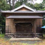 西雲名 八幡神社・静岡県浜松市天竜区西雲名