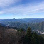 戸口山(1026.2m) 橿山(1059.2m) 菖蒲根山(756.7m)