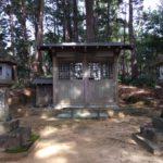 愛宕神社(愛宕本宮山 196.7m)・愛知県新城市富保