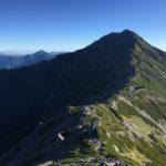 北岳(3193m) 間ノ岳(3189.5m) 農鳥岳(3025m) 小太郎山(2725.4m)