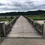 蓬萊橋(ほうらいばし)世界で一番長い木造歩道橋・静岡県島田市