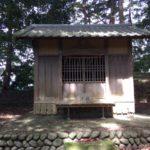 弁天山(55m) 水神社・静岡県島田市阪本