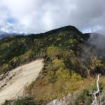 笊ヶ岳(2629m) 生木割山(2539m)・椹島〜二軒小屋